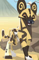Cape Hunting Dog Animal Jam