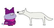 Chowder meets Arctic Wolf