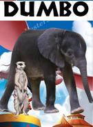 Dumbo (1941) (NR1GLA Style) Poster