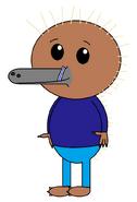 Kenai Hidna (straw) (PJs)