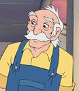Matthew Cuthbert in Anne of Green Gables The Animated Series