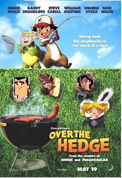 Over the Hedge (1701Movies Human Style)