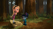 Penny is angry at Vanellope from The Story