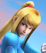 Zero Suit Samus in Super Smash Bros. Brawl