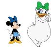 """Minnie, do you like my butt❓"""
