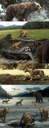 Cartoon smilodon in documentary by wdghk ddoxyhw