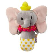 Itty Bittys - Disney Baby Plush Rattle - Dumbo