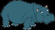 Melvina Spacebot hippo form thelionking2simbaspride in thespacebotsadventuresseries