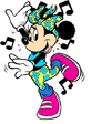 Minnie Mouse Dancing