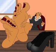 Nala s office feet red variant by nannymcfeet ddx6v40-fullview