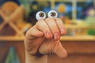 Oobi Nick Jr Noggin TV Series Show Hand Puppet Character 1-1-