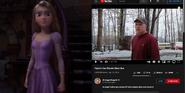 Rapunzel vs Psycho Dad