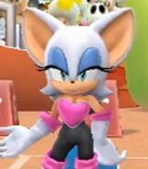 Rouge the Bat in Mario and Sonic at the London 2012 Olympic Games