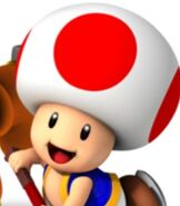 Toad in Mario Sports Mix
