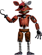 Withered foxy new textures 2 full body by yinyanggio1987-dayagfb
