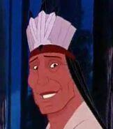 Chief Powhatan in Pocahontas