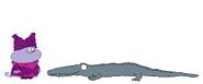 Chowder meets Chinese Alligator