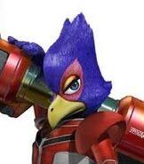 Falco in Star Fox Assault