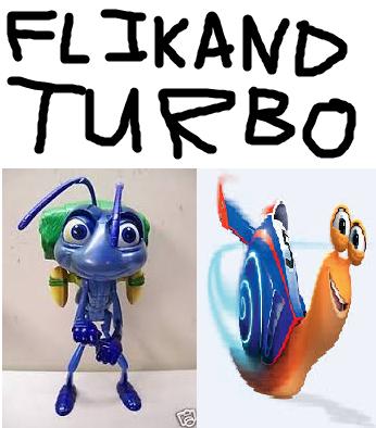 Flik and Turbo (TheLastDisneyToon's Style)