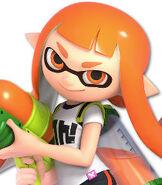 Inkling Girl in Super Smash Bros. Ultimate