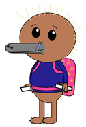 Kenai Hidna (baby carrier) (straw) (sabers)