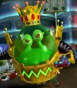 King Goobot in Jimmy Neutron's Nicktoon Blast