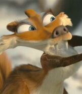 Scratte in Ice Age Dawn of the Dinosaurs