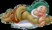 Sleepy snow white