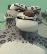 Tai Lung in Kung Fu Panda- Legends of Awesomeness
