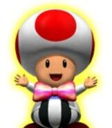 Toad in Mario Party 4