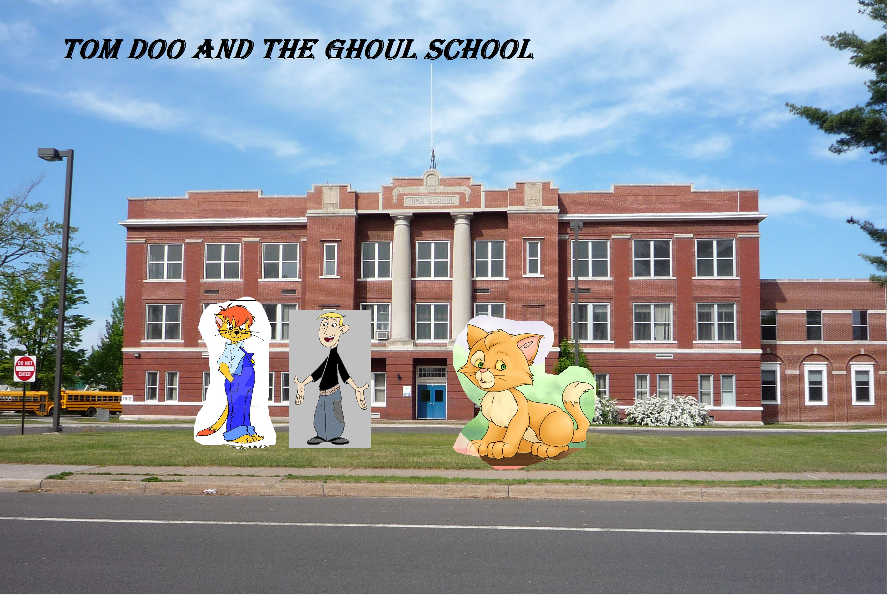 Tom Doo and the Ghoul School