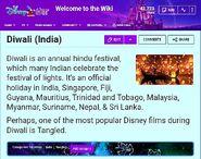 2020 Diwali in Disney Wikia