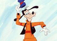 Goofy tipping hat