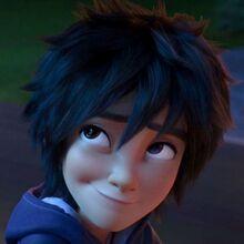 Hiro Hamada smiled at Tadashi.jpg