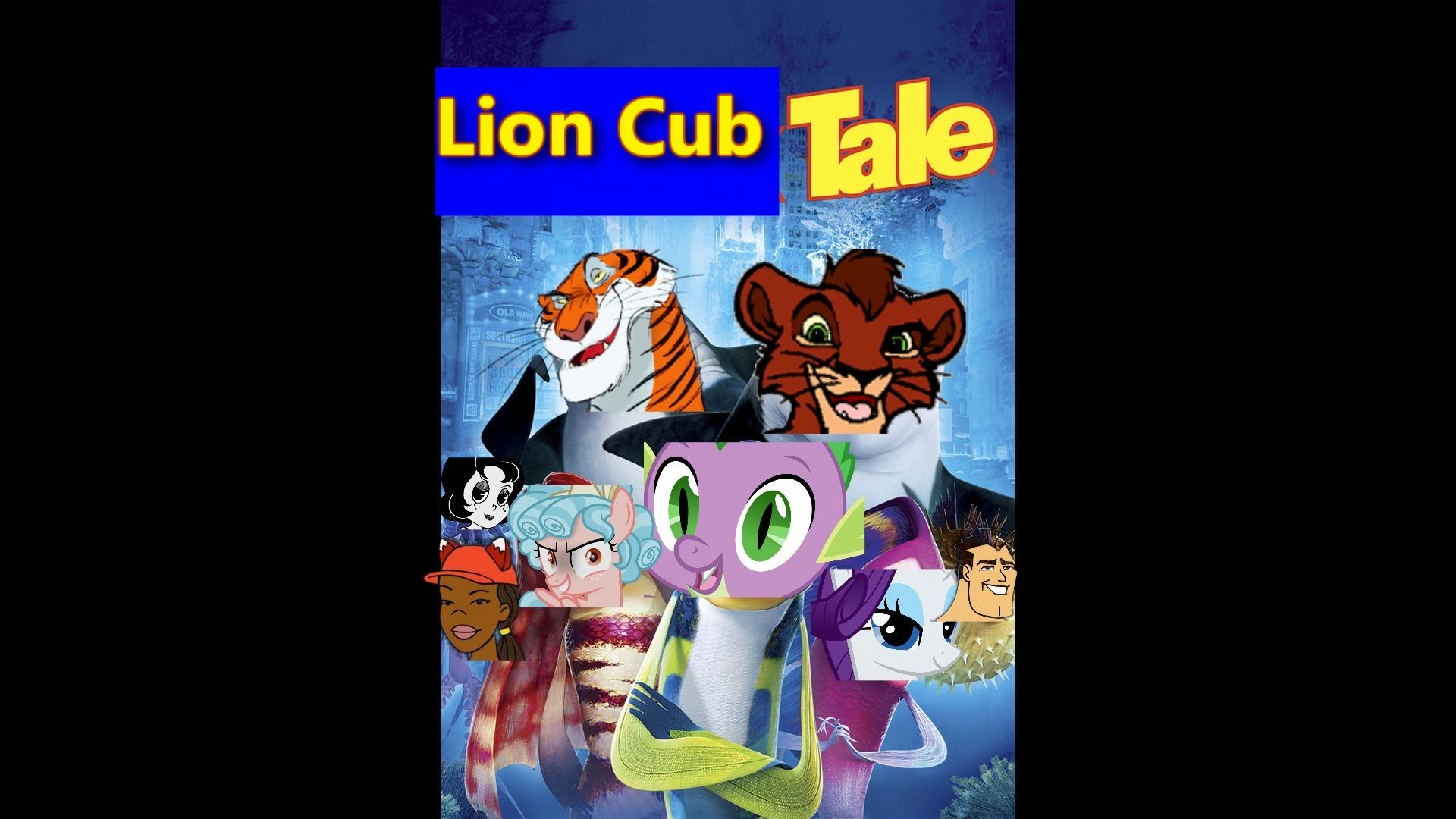 Lion Cub Tale (Dragon Rockz Shark Tale Style).jpeg