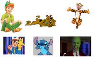 Scooby doo's roles in dinosaurkingrockz