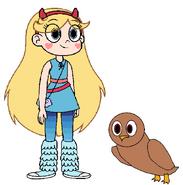 Star meets Tawny Owl