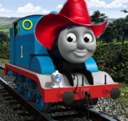 Thomas with cowboy hat 3