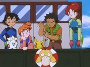 Brock rescues Psyduck 10