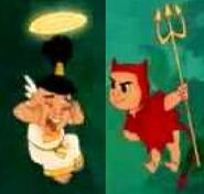 Devil Tipo and Angel Tipo (Kronk's New Groove)