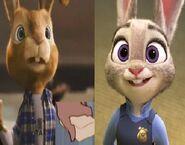 E.B. and Judy Hopps