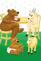 Jumpstart firstgrade babies bears goats