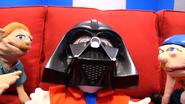 Mario as Darth Vader Yells NOOOOO!!!