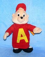 Mr Alvin Toy Network Plush