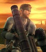 Solid Snake in Super Smash Bros. Brawl