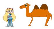 Star Meets Bactrian Camel