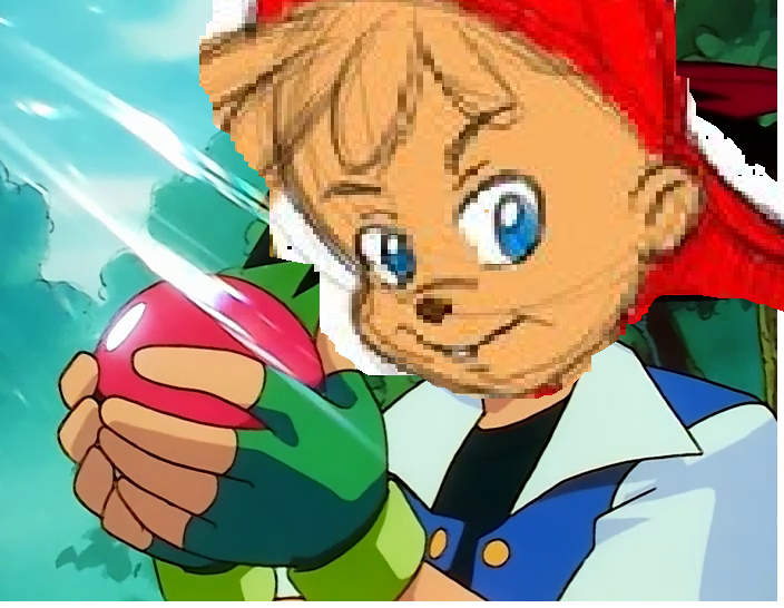 Alvin Catches a Pokemon
