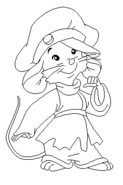 Colorless Fievel Mousekewitz