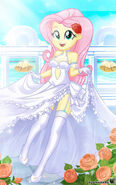 EG Series - Bridal Fluttershy! by charlieXe