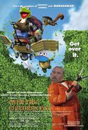 Over the Children Hedge Poster